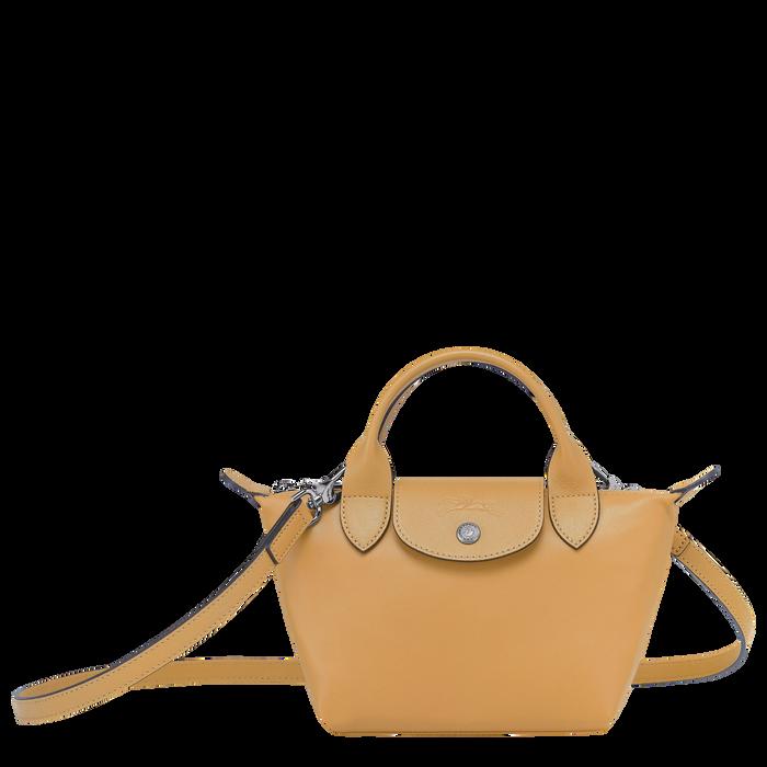 Tas met handgreep aan de bovenkant XS, Honing - Weergave 1 van  6 - Meer inzoomen.