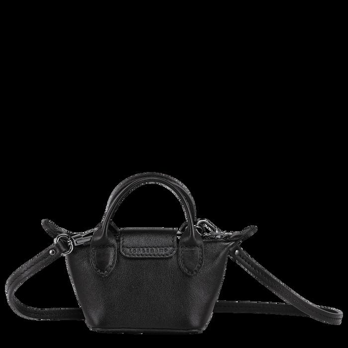 Le Pliage Cuir 斜揹袋 XS, 黑色