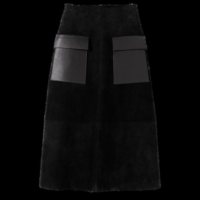 Jupe, Noir/Ebène - Vue 1 de 1 - agrandir le zoom