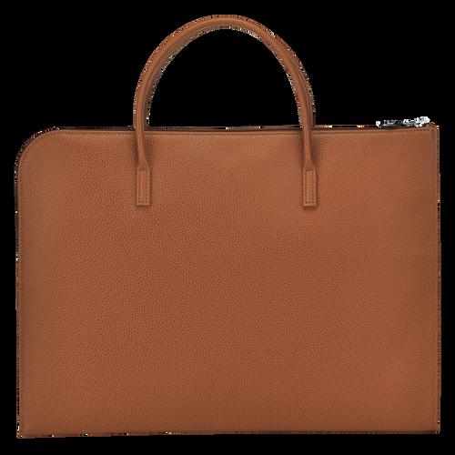 Briefcase S, Caramel, hi-res - View 3 of 3