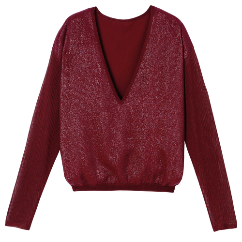 Pullover, Red lacquer, hi-res - View 1 of 1