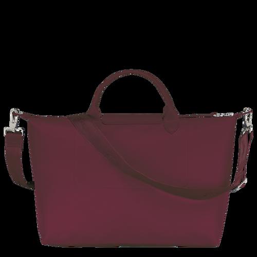 Le Pliage Néo Top handle bag L, Grape