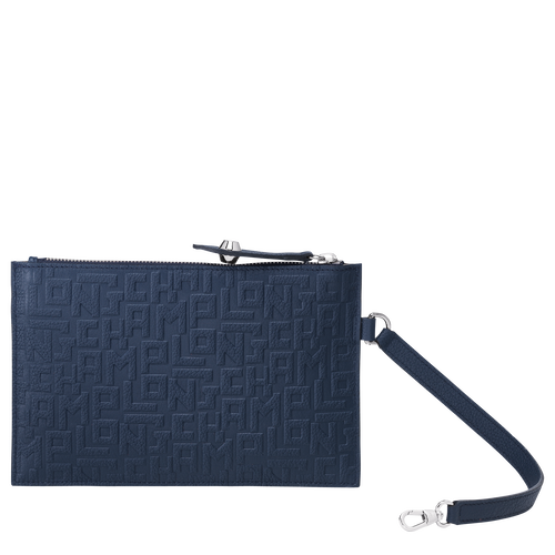 Flat pouch, Navy, hi-res - View 3 of 3