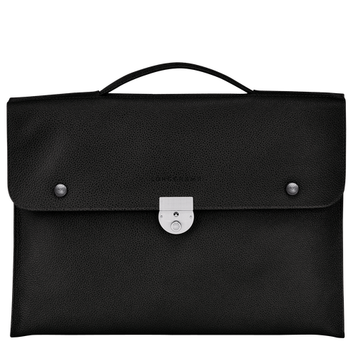 View 1 of Briefcase S, Black, hi-res
