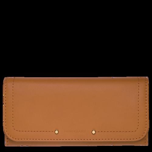 View 1 of Continental wallet, Natural, hi-res