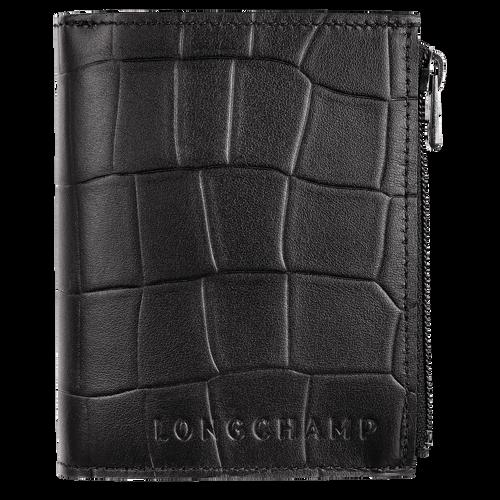 Portefeuille compact, Noir - Vue 1 de 2.0 -