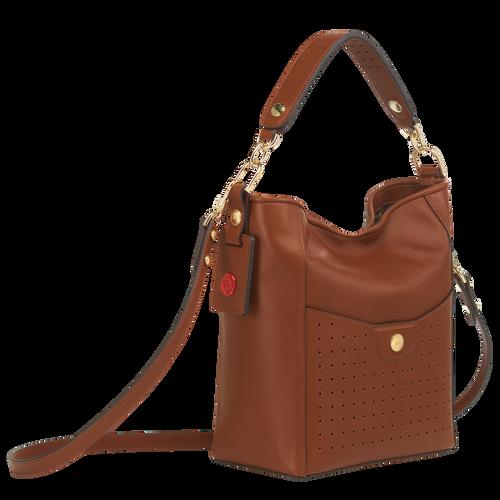 Bucket bag S, Cognac - View 2 of  3 -
