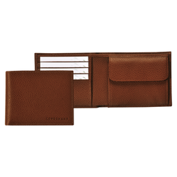 Small wallet, 504 Cognac, hi-res