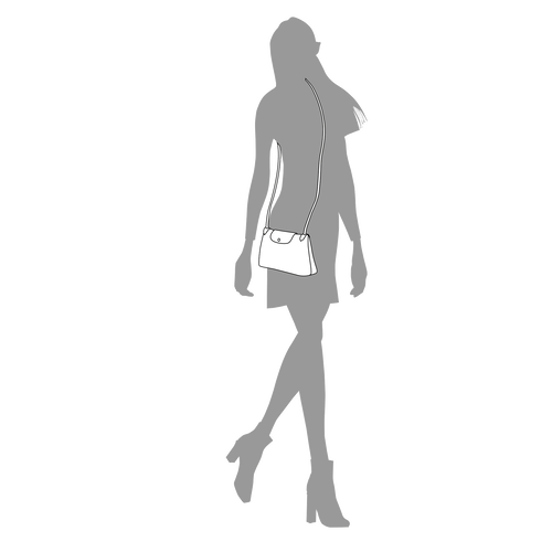 Crossbody bag, Black/Ebony - View 4 of  5 -