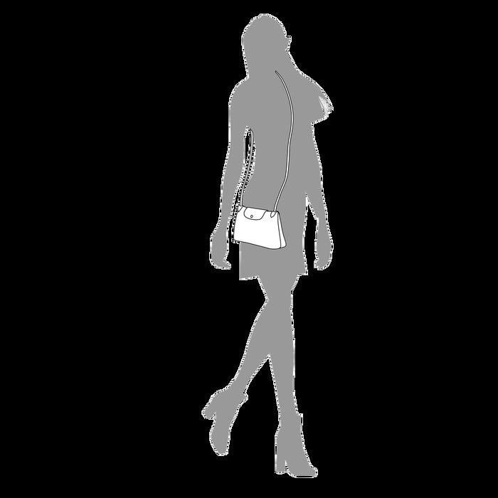 Crossbody bag, Black/Ebony - View 4 of  5 - zoom in