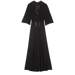 Long dress, 001 Black, hi-res