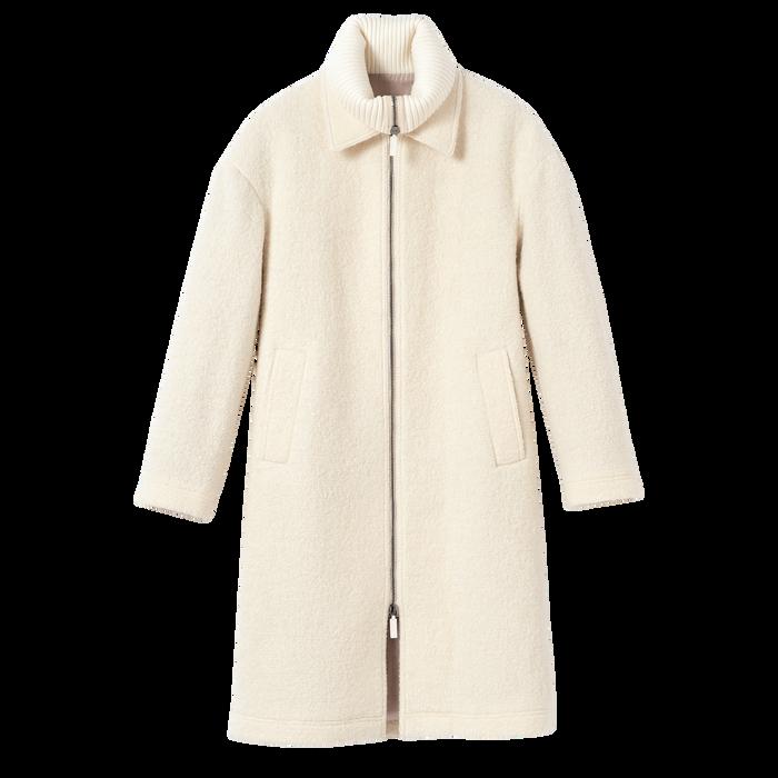 2021 秋冬系列 大衣, 象牙色