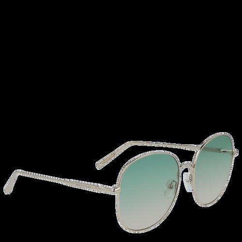 View 2 of Sunglasses, Gold Green, hi-res
