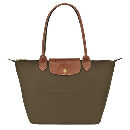 Shoulder bag S, Khaki, hi-res - View 1 of 4