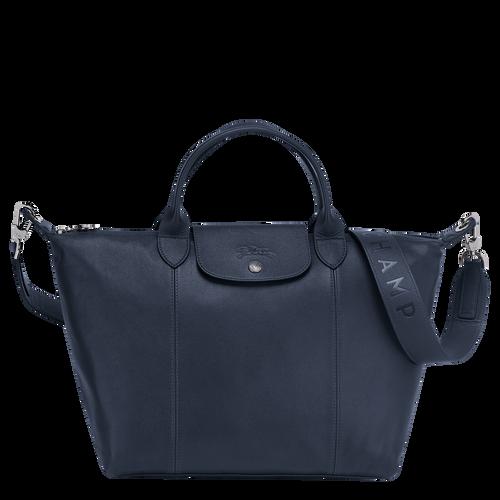 Handtasche M, Navy - Ansicht 1 von 5 -