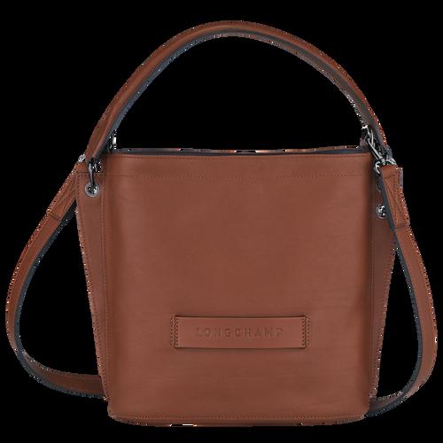 Longchamp 3D Crossbody bag, Cognac