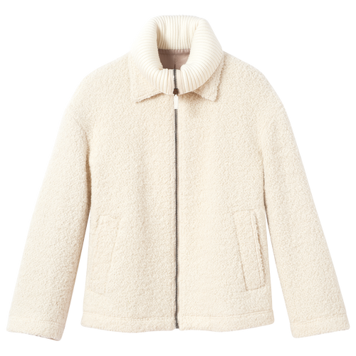 Fall-Winter 2021 Collection Jacket, Ivory