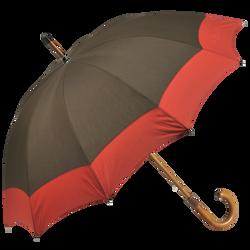 Paraplu, Kaki/Pilootblauw, hi-res