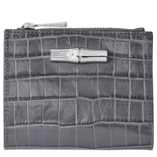 Roseau 小型錢包, 鐵灰色