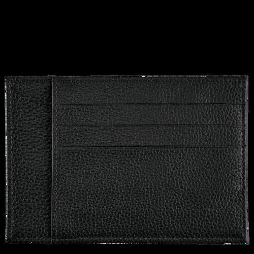 Le Foulonné Card holder, Black