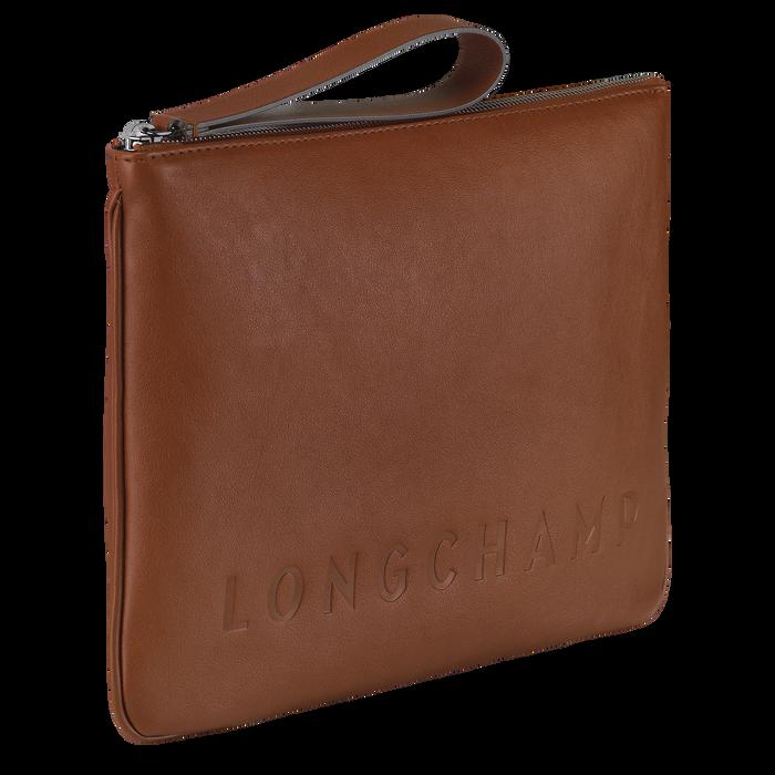 Longchamp 3D Pouch, Cognac