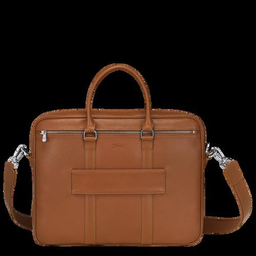 Briefcase S Le Foulonné Caramel (L2122021F72) | Longchamp DK