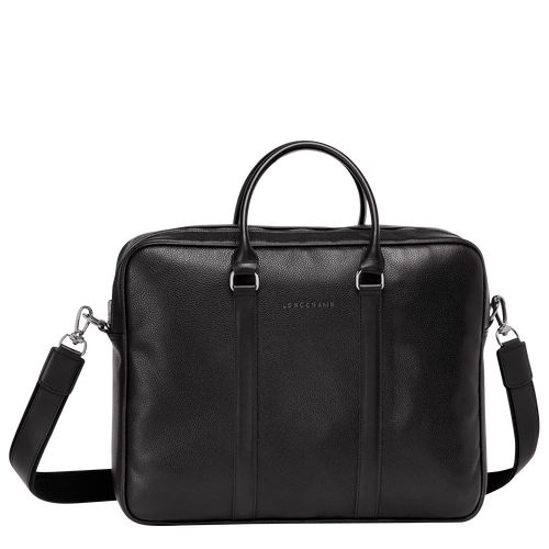 Briefcase M, Black - View 1 of 3 -