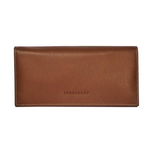 Geldbörse mit Überschlag, 504 Cognac, hi-res