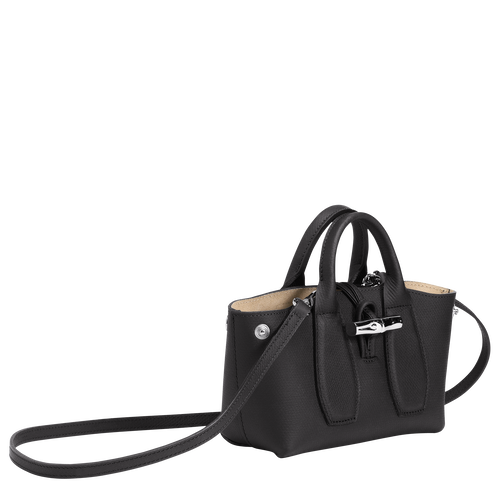 Top handle bag S, Black, hi-res - View 3 of 4