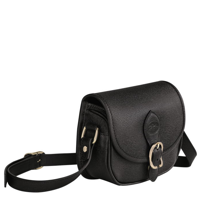 Crossbody bag XS, Black/Ebony - View 2 of  3 - zoom in