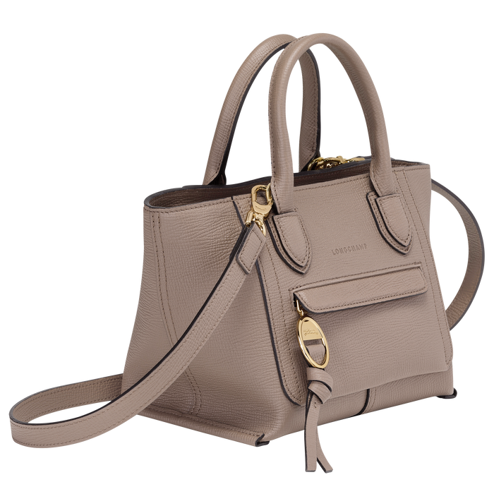 Top handle bag S, Taupe - View 2 of  4.0 - zoom in