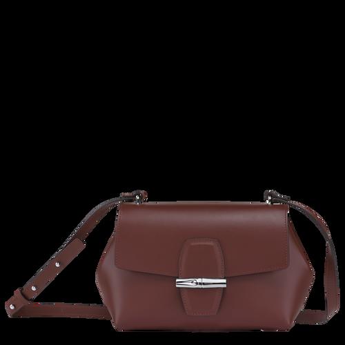 Crossbody bag Roseau Mahogany (10094HSC204) | Longchamp US