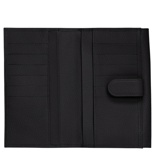 Long continental wallet, Black - View 2 of  3 -