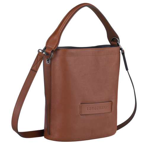 Crossbody bag, Cognac - View 2 of  3 -