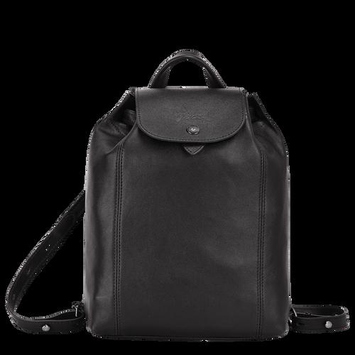 Sac à dos Le Pliage Cuir Noir (10089757001) | Longchamp FR