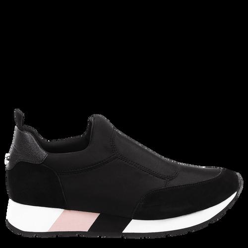 Tennis shoes, 001 Black, hi-res