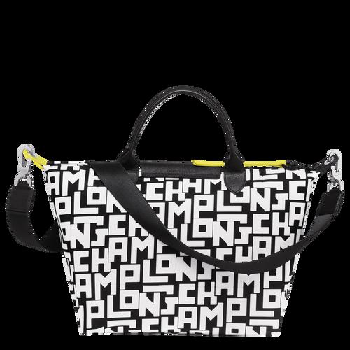 手提包, 黑/白色, hi-res - 3 的視圖 4
