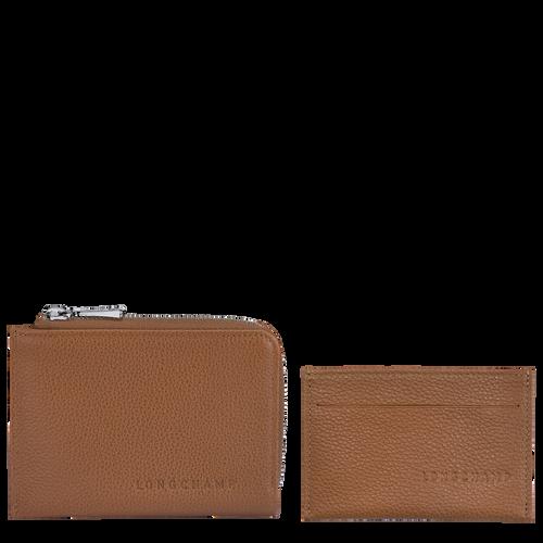 Le Foulonné 2-in-1 Wallet, Caramel