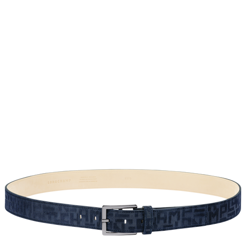 View 1 of Men's belt, 006 Navy, hi-res