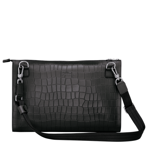 Crossbody bag L, Black/Ebony - View 3 of  3 -