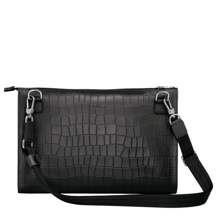 Crossbody bag L, Black/Ebony - View 3 of  3 - zoom in