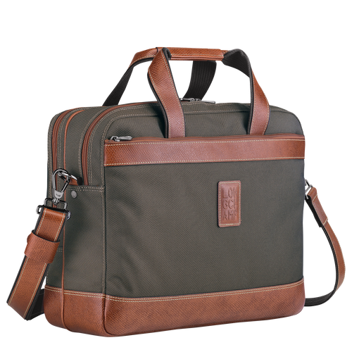 Briefcase L, Brown, hi-res - View 2 of 3