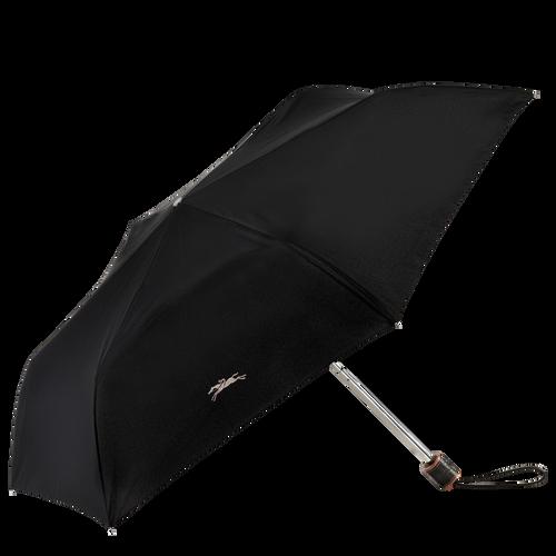 Retractable umbrella, Black, hi-res - View 1 of 1