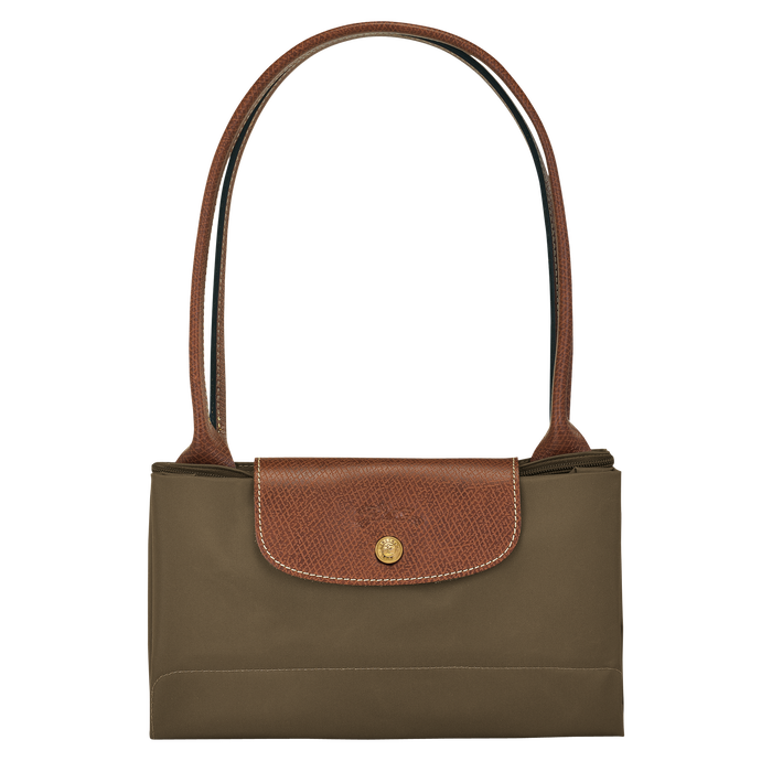 Shoulder bag L, Khaki - View 4 of  4 - zoom in