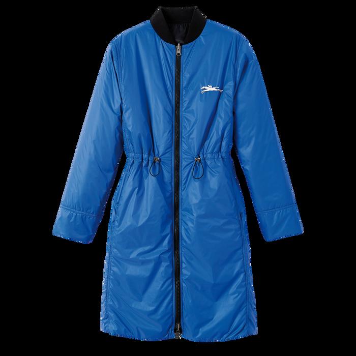 Spring-Summer 2021 Collection Reversible coat, Black/Blue