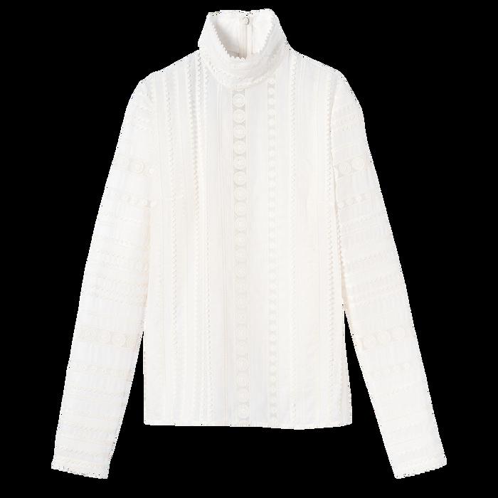 Collezione primavera-estate 2021 Blusa, Bianco