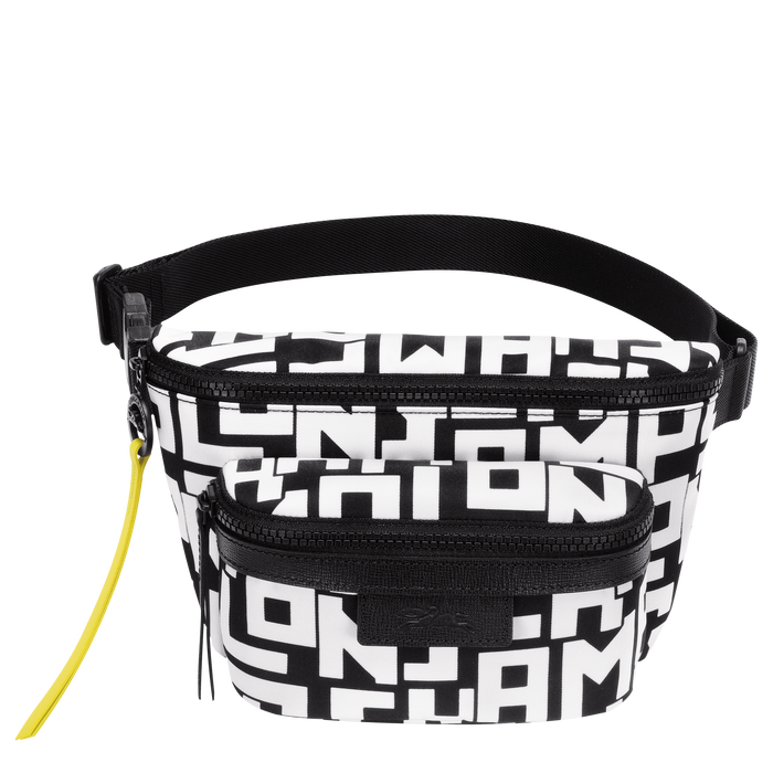 Belt bag M, Black/White - View 1 of 3 - zoom in