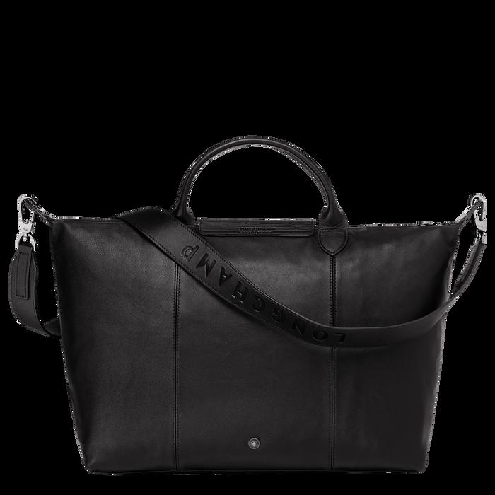 Top handle bag L, Black/Ebony - View 3 of 4 - zoom in