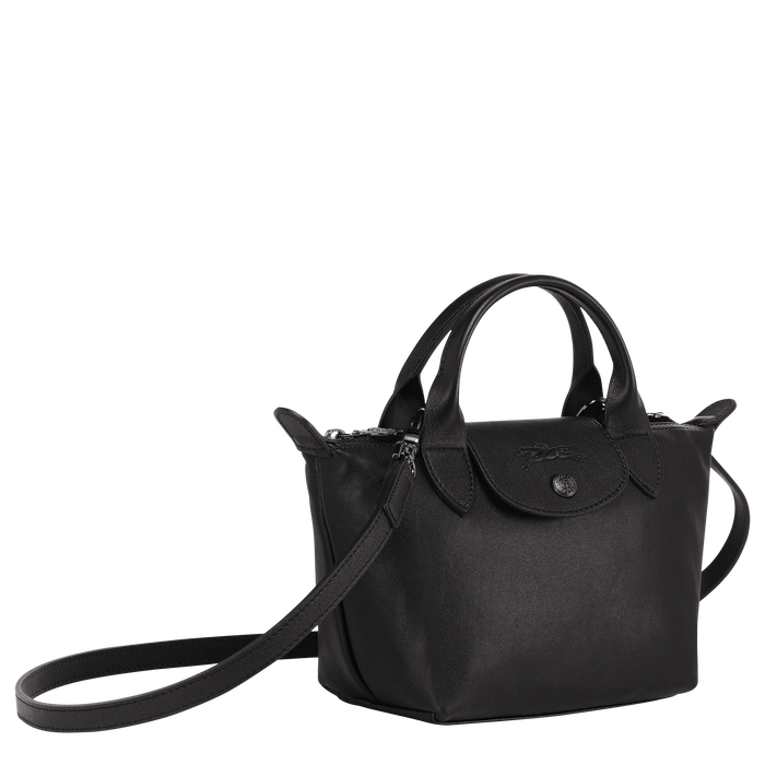 Top handle bag XS, Black/Ebony - View 2 of  4 - zoom in