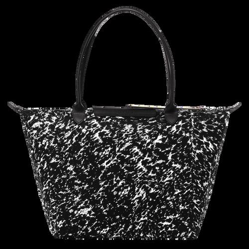 View 3 of Tote bag L, 067 Black/White, hi-res